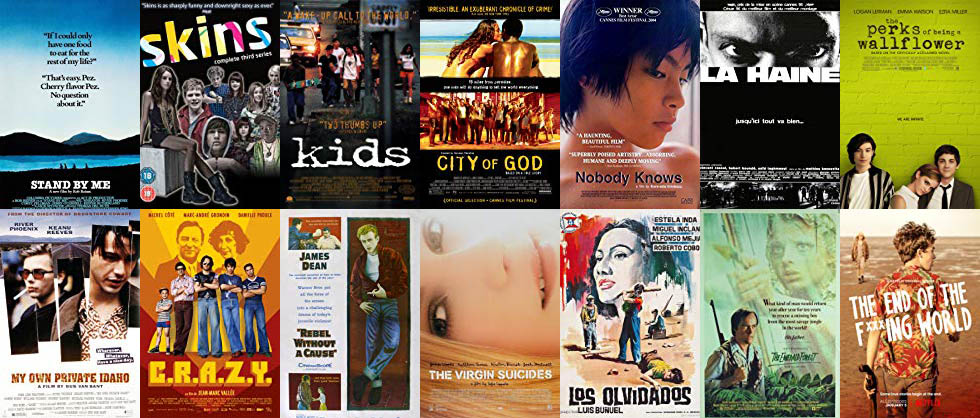 The 51 Top Teenage Gang/Coming of Age Films & TV