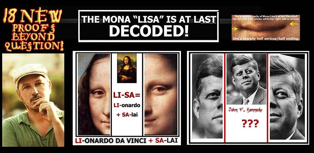 THE HISTORICAL DECODING OF MONA LISA VIDEO! [2019]