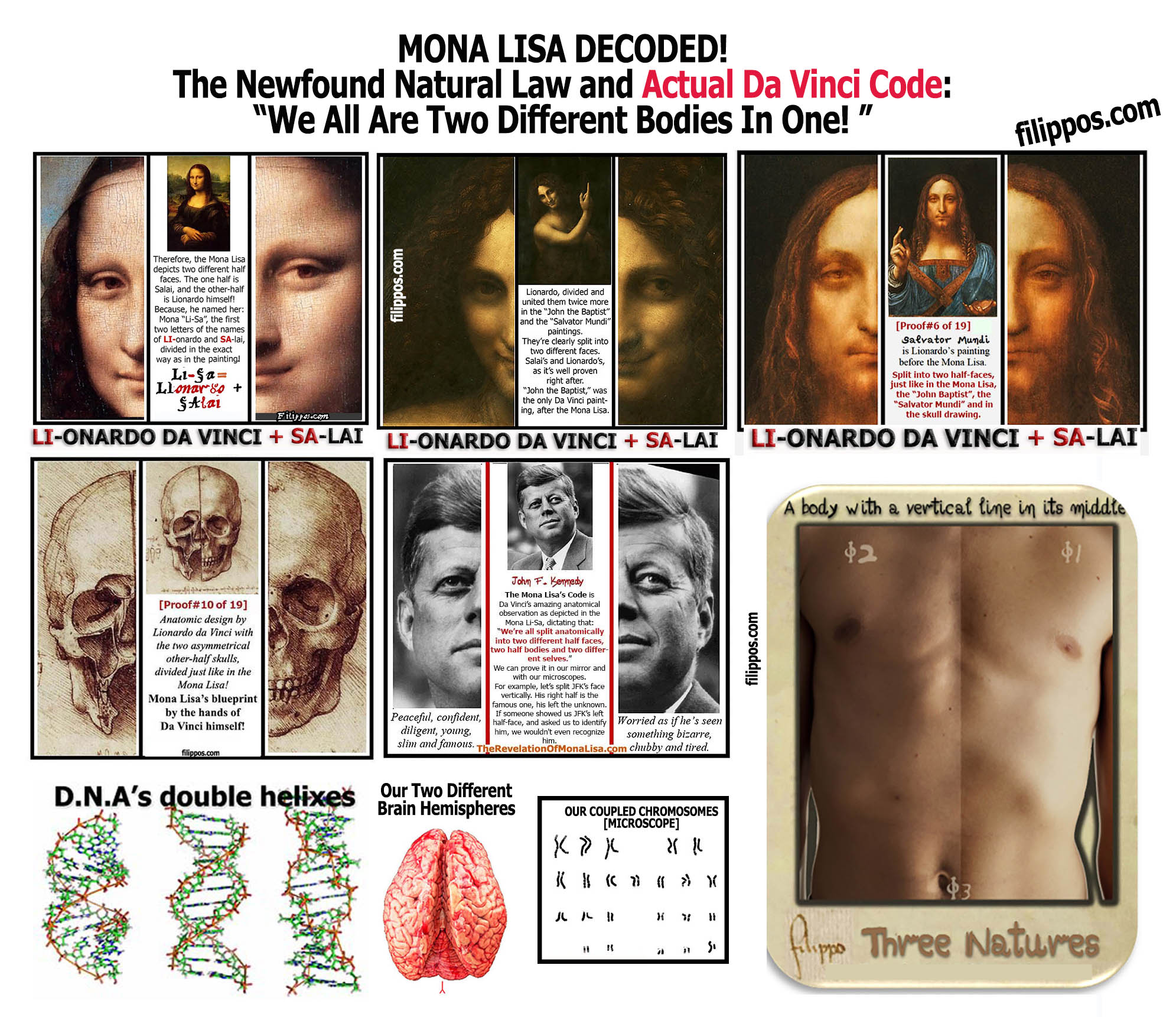 Mona Lisa Decoded Totem