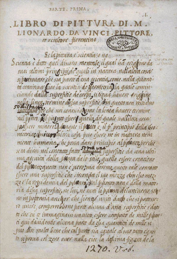 Codex-Urbinas-of-Lionardo-da-Vinci