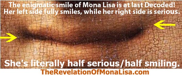 Mona Lisa Smile Decoded
