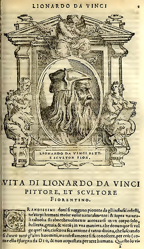 Read Vasari's chapter about Lionardo da Vinci